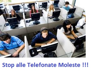 UNISCITI A NOI PER DIRE STOP AI CALL CENTER COMMERCIALI